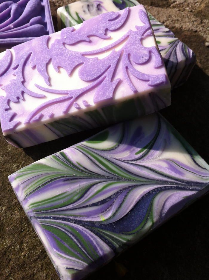 love the swirls for the lavender!