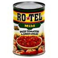 Food Facts:  Rotel Mild Diced Tomatoes & Green Chilies (10 oz.) | Foodfacts.com