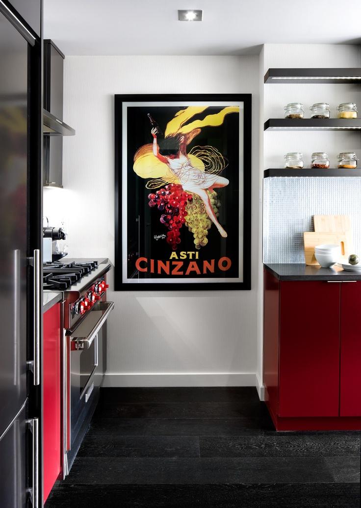 die 46 besten bilder zu red kitchens auf pinterest | toronto ... - Küche Toronto