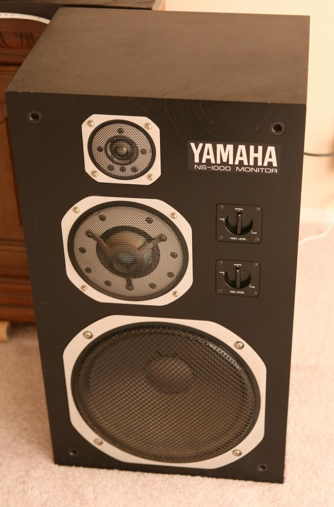 Yamaha ns1000 an iconic speaker from around 1980 yamaha for Yamaha sound dock