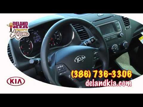 Deland Kia   http://www.delandkia.com/new-inventory/index.htm 2322 S. Woodland Blvd Deland, Florida 32720                                                        (866) 809-7175 Hi Folks, Robert here with Deland Kia. I wanted to let you know that we have a 2014 Forte Koup in stock right now. This Kia Koup EX is in abyss blue, and man that is a pretty blue. If you've been thinking about getting into a 2 door sports car with great looks, impressive power, and all the technological features you'd…
