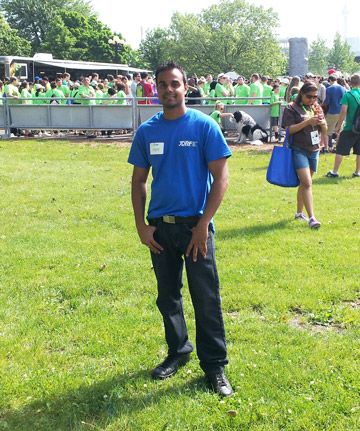 Anthony Singh is our December Volunteer of the Month.