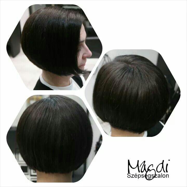 Egy bob frizura mindenkinek jól áll. Kényelmes mindennapi viselet, és ami a legjobb örök divat. :)  www.magdiszepaegszalon.hu
