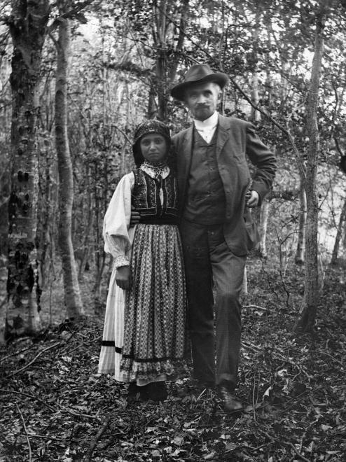 Cholnoky Jenő földrajztudós Nagybecskerek 1909