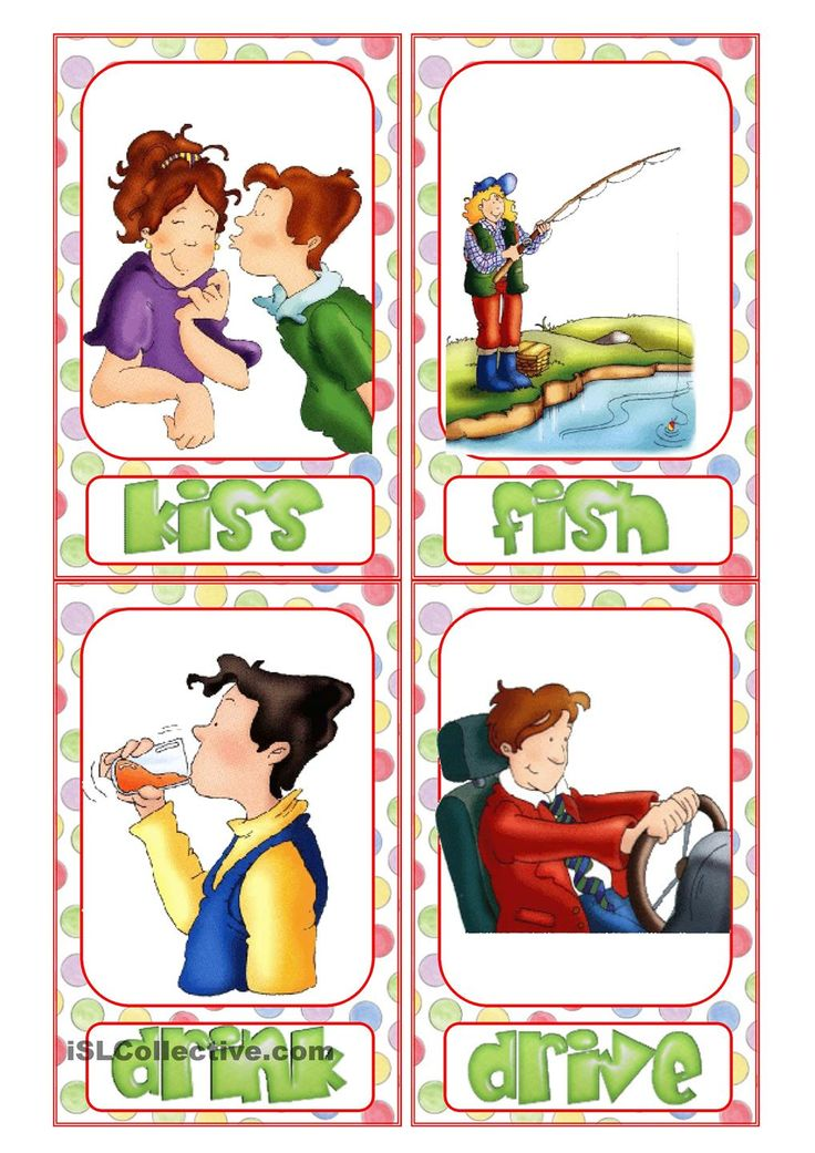 8 best Verbs images on Pinterest Action verbs, School and Activities - action verbs