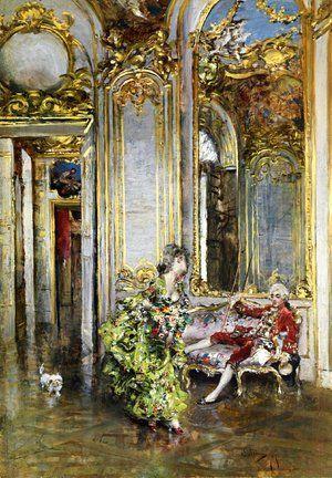 Giovanni Boldini - A Friend of the Marquis