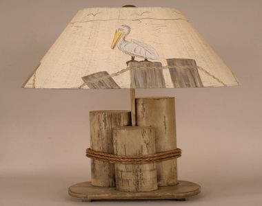 Nautical lamp shades, nautical rope decor nautical rope table lamp ...