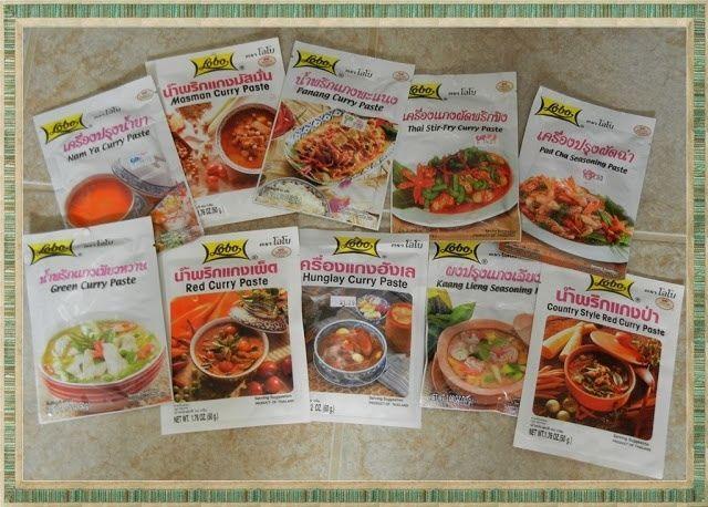 Lobo Thai Food Authentic Curry Paste Thai Instant Spicy Pepper Sauce