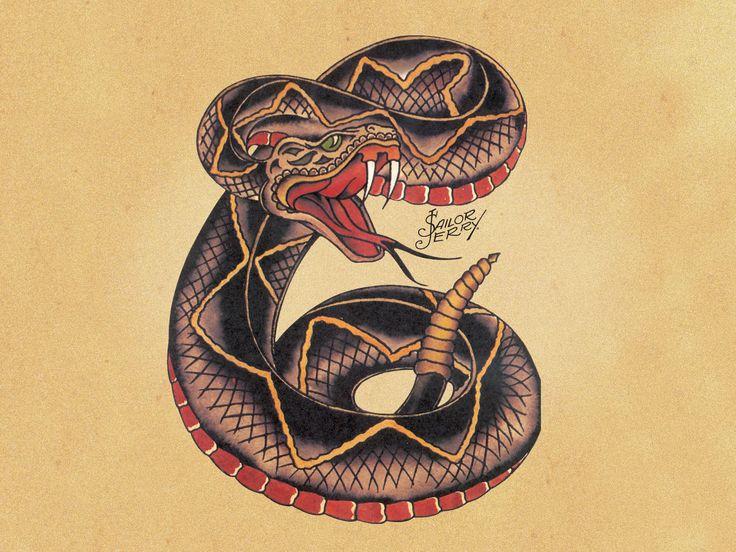 SSSSnake - Sailor Jerry Tattoos, Rockabilly,