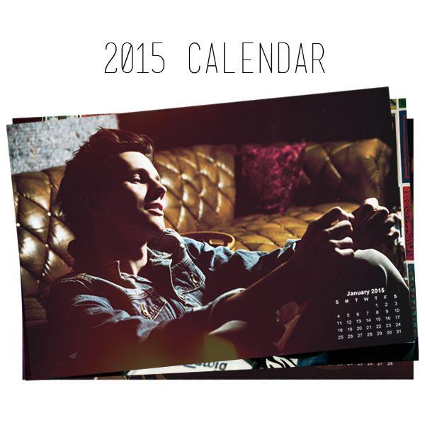 The first ever Joe Brooks Calendar!