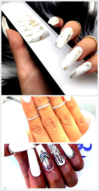 Dippy Cow Nails 2020 Basarmak Beyaz Tirnaklar Ombre
