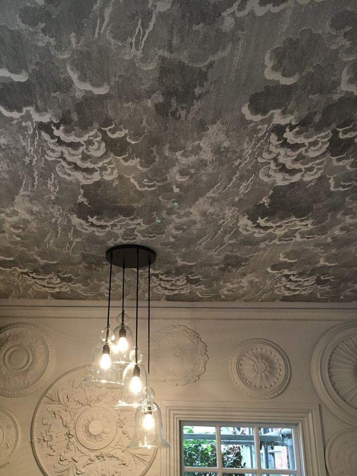 Cole & Son cloud wallpaper: 'Fornasetti II Nuvolette'