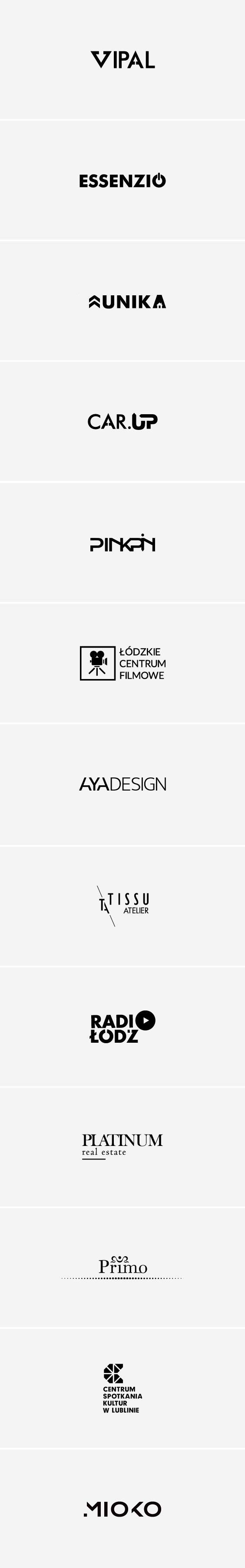 LOGOS by PINKPIN (Izabela Matuszewska) Brand identity