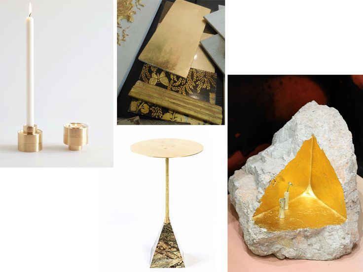 Gilded trends to add to your decor