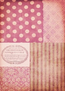 FREE printable: shabby chic patchwork.