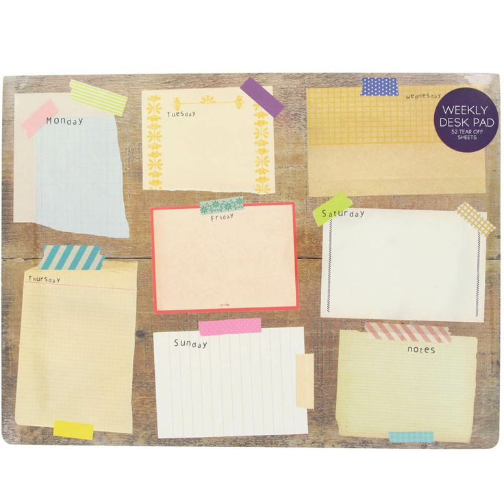 pinboard desk pad from Paperchase