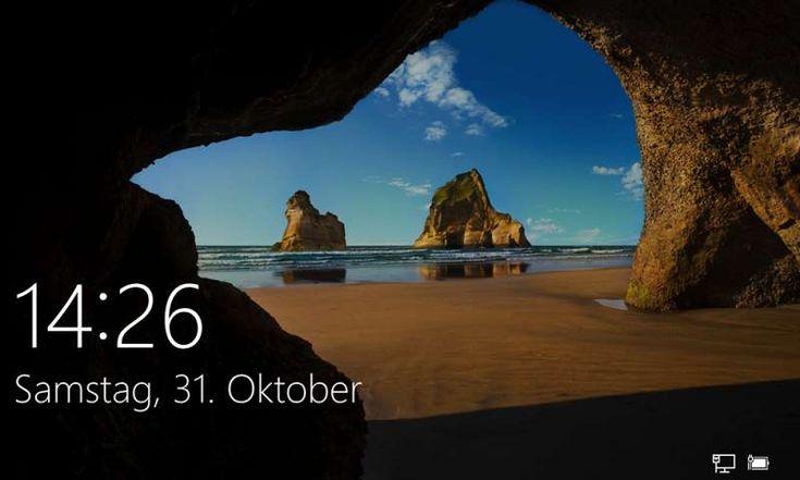 Windows 10: Sperrbildschirm deaktivieren - PC Magazin