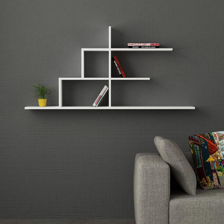 17 meilleures id es propos de etagere murale fixation - Comment fixer etagere murale fixation invisible ...