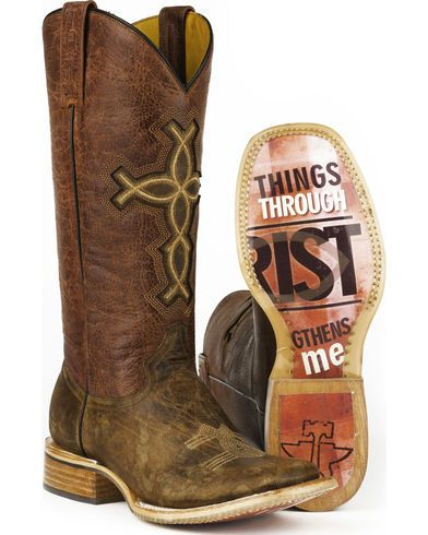 Tin Haul I Believe Cowgirl Boots - Square Toe | Sheplers