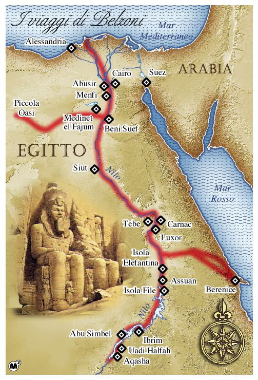 Marco Vaglieri • Belzoni´s journey in Egypt, 2005 (in collaboration with M2 studio, Milan)