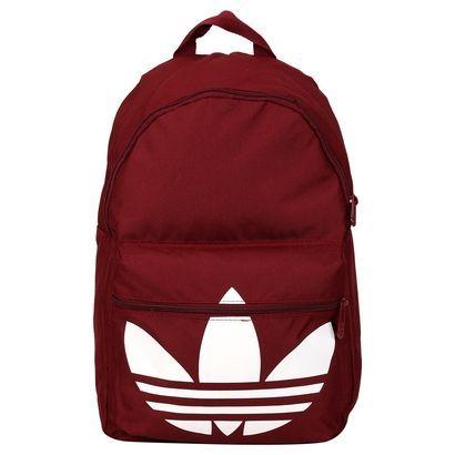 minorista online gran variedad de estilos bienes de conveniencia Mochila Adidas Originals Classic Trefoil - Preto e Branco ...