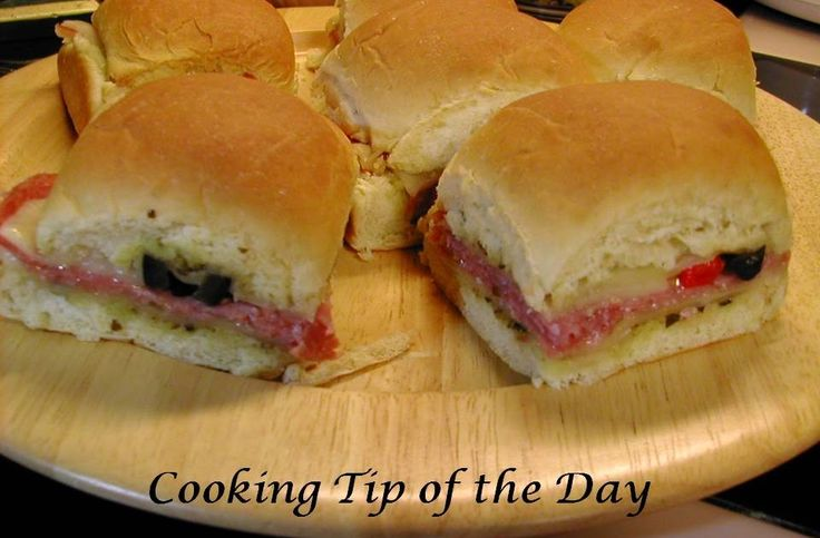 These Italian Mini Party Sandwiches are easy to make and so delicious… they're the perfect food to serve while watching the March Madness g...