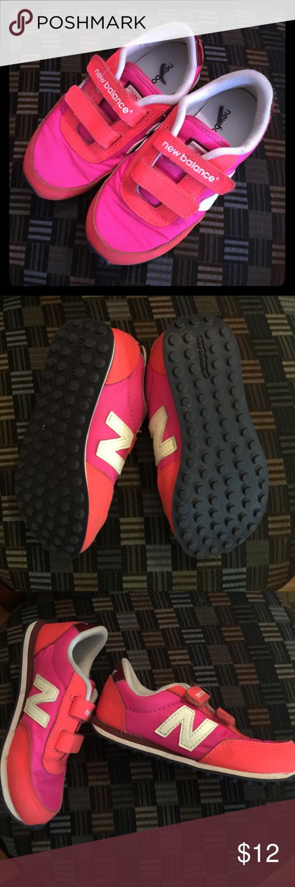 New balance girls tennis shoes My girl worn these one time. Like new New Balance Shoes Sneakers