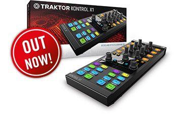 Traktor : Dj Controllers : Traktor Kontrol X1 | Products