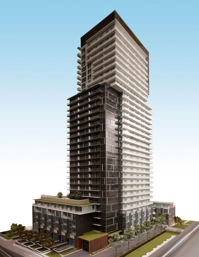101 Erskine  By Tridel Number of floors: 32 Number of units: 421 (Plus 10 townhomes) Unit sizes (in square feet): 435 - 1044 (Townhomes are approx 2282) Ceiling height: 9.0 ft Price range (approx): $254,000 - $678,000+ (townhomes from $1.3 million) Parking: $45,000  Maintenance: ~$0.54/sf Amenities: Fitness centre, party room, billiards lounge, theatre room, outdoor terrace, infinity pool Expected occupancy: Fall 2015