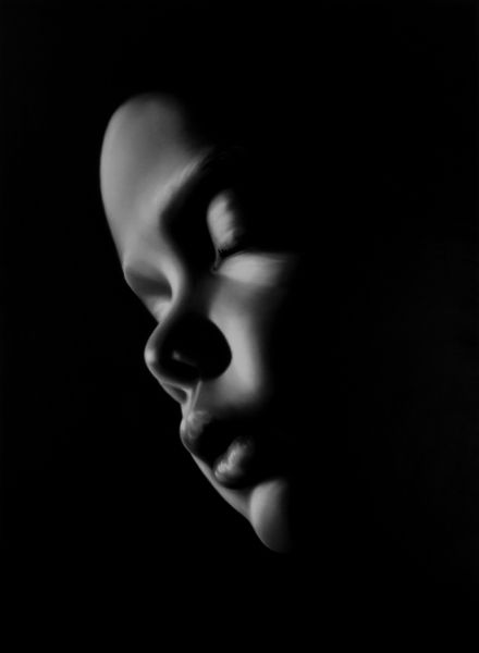 Robert Longo - amazing portrait done in charcoal