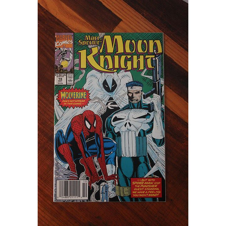 Moon Knight 19 1989 Punisher Spider Man Daredevil Comic