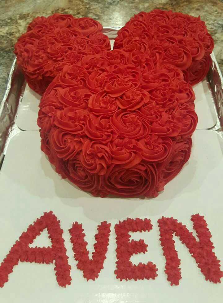 Minnie Mouse Roses Cake, birthday, baby shower Every good and perfect gift is from above.-James 1:17