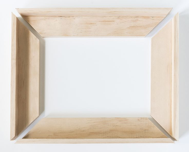 DIY canvas frame tutorial. {room for tuesday}