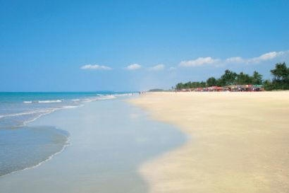 The unspoilt 'Cavelossim Beaches' in Goa, Southern India....an absolute must for beach lovers..