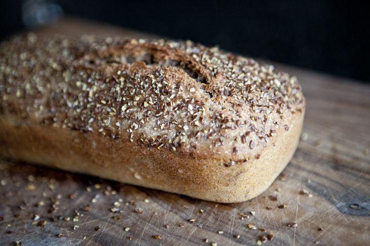 Celozrnný chléb bez hnětení | KITCHENETTE