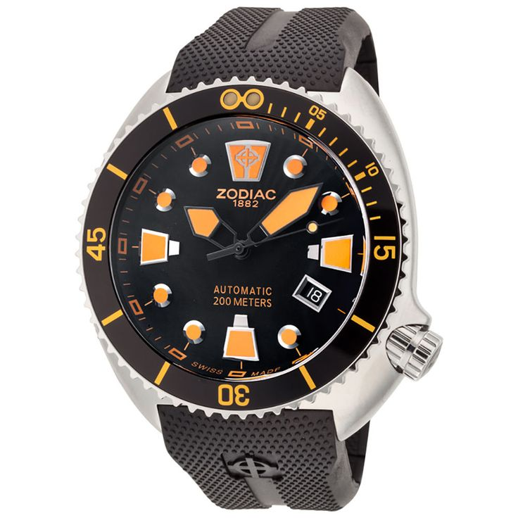 Item specifics    									 			Condition:  												 																	 															  															 															 																New with tags: A brand-new, unused, unopened, undamaged item in its original packaging (where packaging is  																  																		... - #Watches https://lastreviews.net/fashion/mens/watches/zodiac-zo8012-mens-oceanaire-automatic-black-rubber-watch/