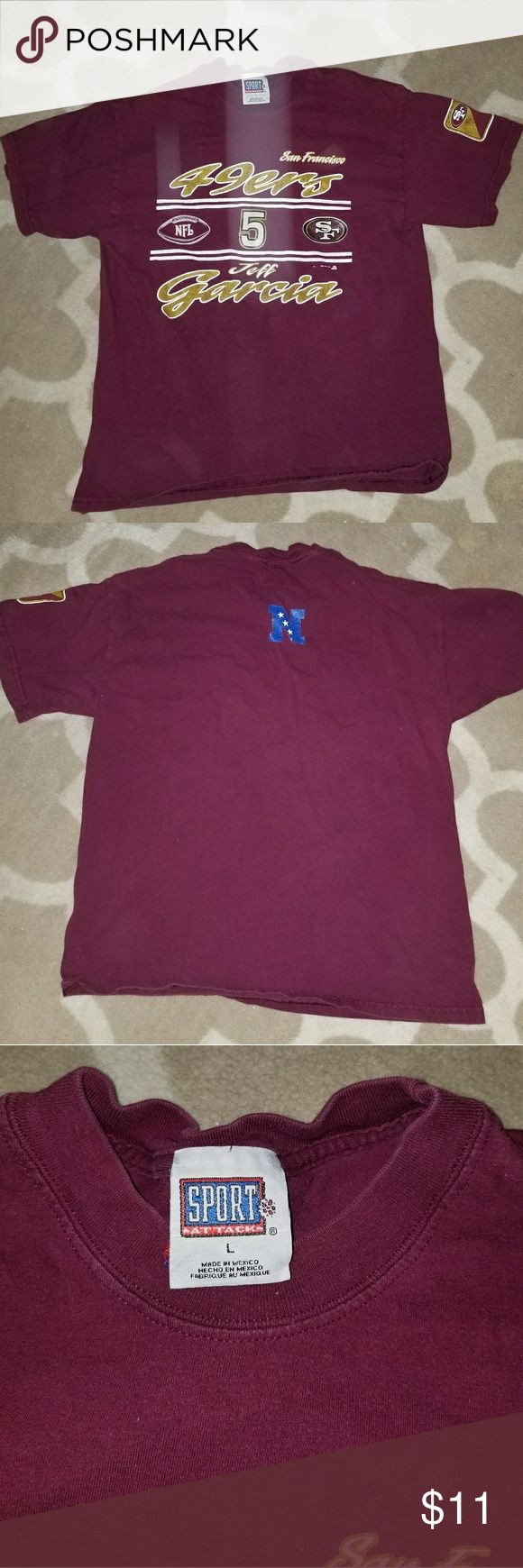 San Francisco 49ers Shirt Large Good condition no holes no stains size large. sport attack Shirts Tees - Short Sleeve