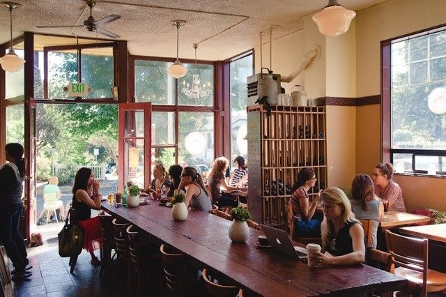 volunteer park cafe seattle: probably the most adorable, rustic-handmade-food cafe in seattle. go for brunch.