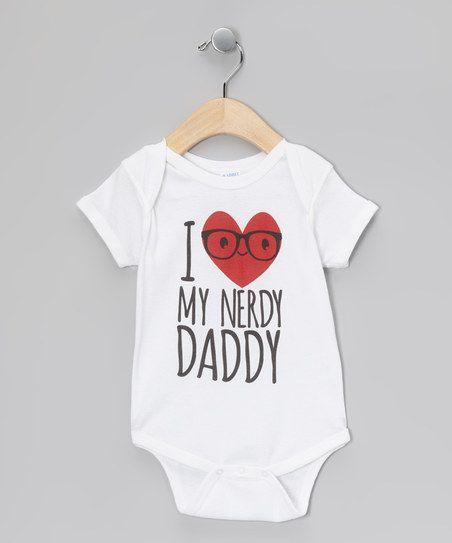 'I Love My Nerdy Daddy' Onesie.
