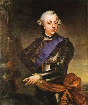 Prince William V of Orange.  Last chief executive of the Dutch Republic.