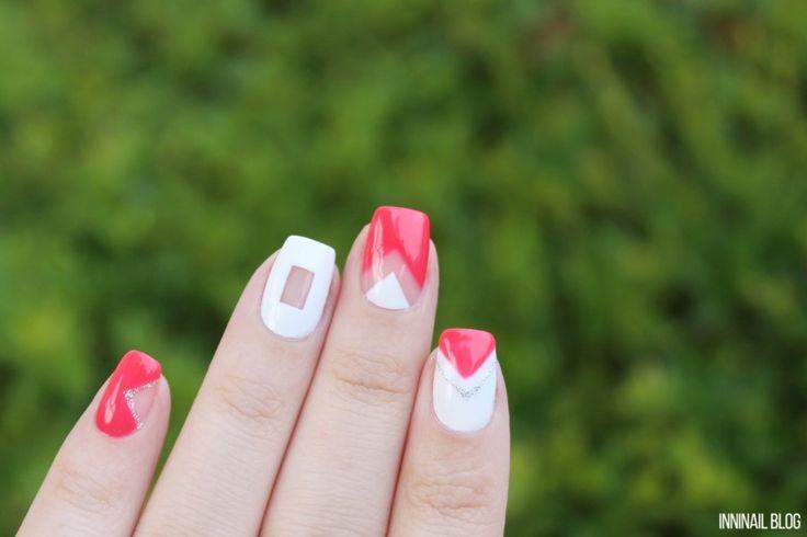 이니스프리 리얼웨이 네일, 심플 여름 젤네일 & 네온 클러치백 : 네이버 블로그