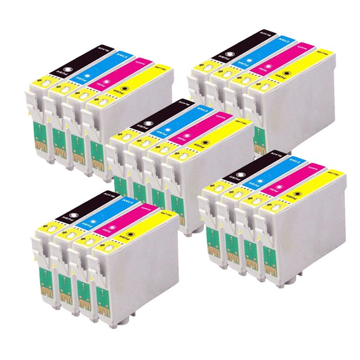 20 Compatible EPSON T1285 Ink cartridge for stylus Office BX305F BX305FW BX305Puls Printer 128XL