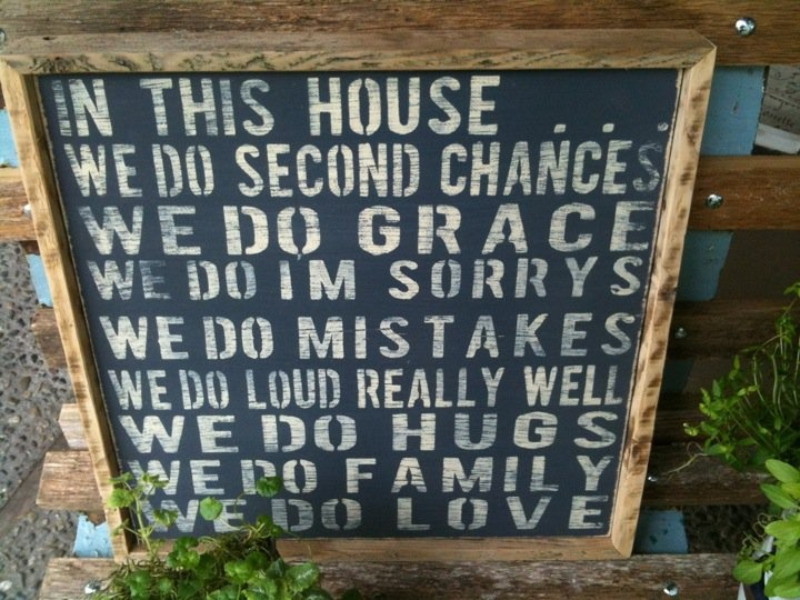 In this family...: Family Perfectly, Diy Paint, Diy Someday, Favorite Quotes, Project Ideas, Accessories, Craft Ideas, Diy Projects