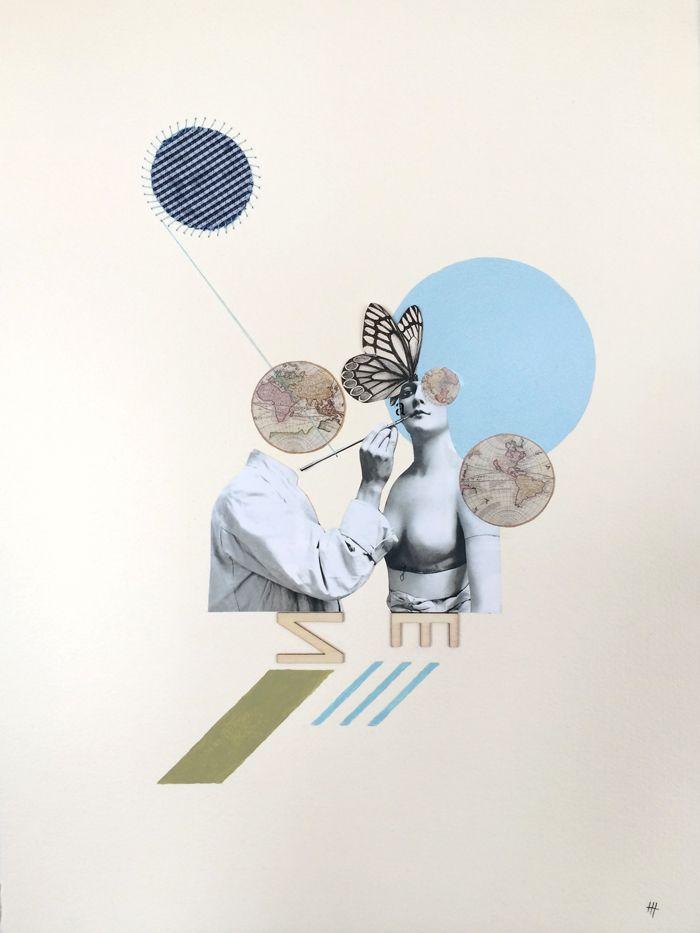"""Obra """"La creación"""" www.maestremarisa.com"""