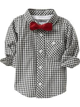 this + black cords just might have to be James' Christmas outfit :) {Old Navy}