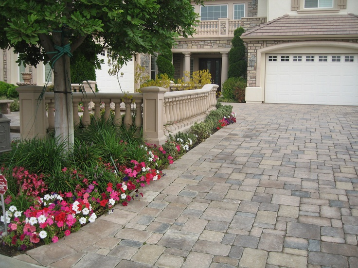 Brown Driveway Pavers : Best entryway pavers in san diego orange county ca
