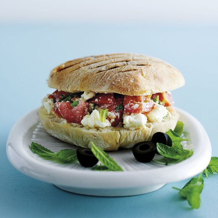 Griechisches Sandwich Rezept | Weight Watchers
