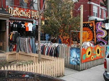 One of our favourite quirky little Kensington Market stores - Dancing Days. #Toronto #Canada