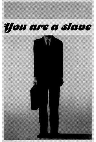 You are a slave | Anonymous ART of Revolution