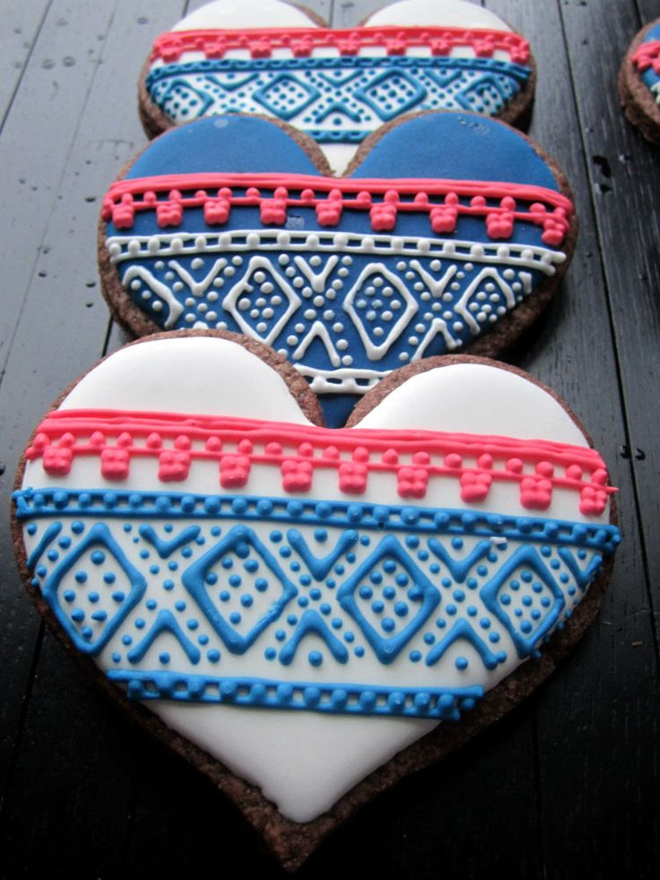 Since I live in Norway, I wanted to make a very Norwegian cookie for Christmas. As I was pondering what to make, I found a book of knitting patterns on my mother-in-law's table (she's an avid knitter), and I decided … Continue reading →